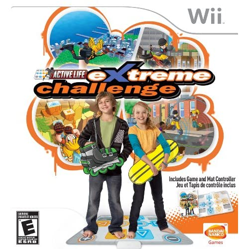 Active Life: Extreme Challenge Bundle With Mat For Wii