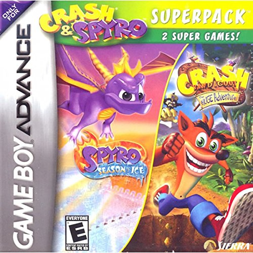Crash And Spyro Super Pack Volume 4 Gameboy Advance GBA New For GBA Gameboy Adva