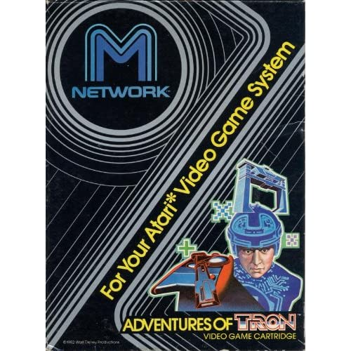 Adventures Of Tron For Atari Vintage