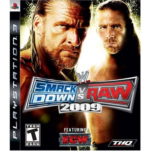 Image 0 of WWE Smackdown Vs Raw 2009 For PlayStation 3 PS3 Wrestling