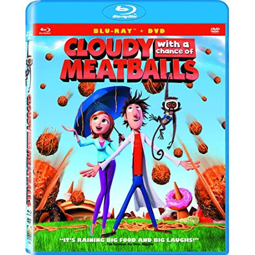 Image 0 of Cloudy With A Chance Of Meatballs Blu-Ray On Blu-Ray With Anna Faris