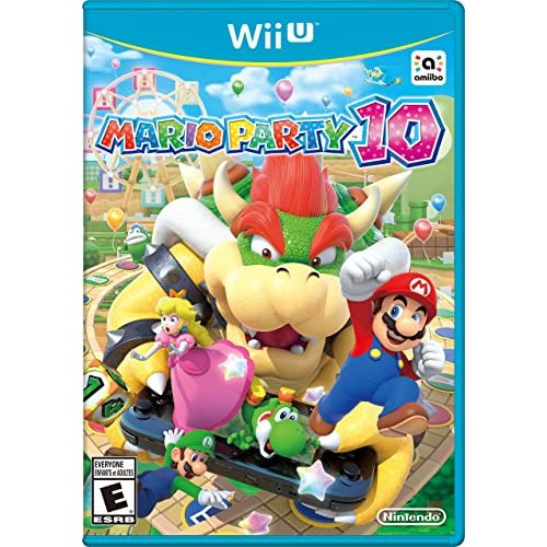Mario Party 10 For Wii U With Manual And Case