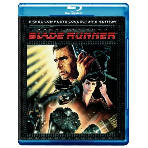 Blade Runner Five-Disc Complete Edition Blu-Ray On Blu-Ray With Harrison Ford 5