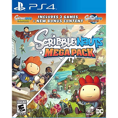 Image 0 of Scribblenauts Mega Pack For PlayStation 4 PS4 Puzzle