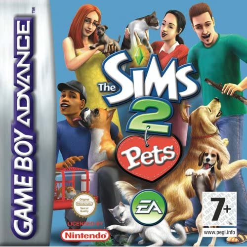 Image 0 of The Sims 2: Pets For GBA Gameboy Advance RPG