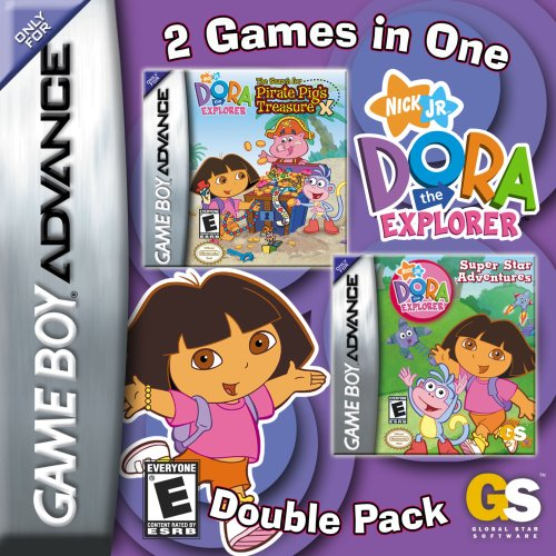 Dora The Explorer Super Star Adventures & The Search For Pirate Pig's Treasure D