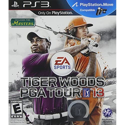 Tiger Woods PGA Tour 13 For PlayStation 3 PS3 Golf