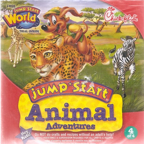 Image 0 of Chick-Fil-A: Jump Start Animal Adventures 4 Of 4 Cd-Rom Software