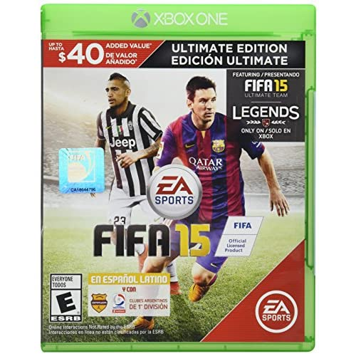 FIFA 15 Ultimate Edition Xbox One For Xbox One Soccer