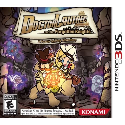 Doctor Lautrec And The Forgotten Knights Nintendo For 3DS RPG