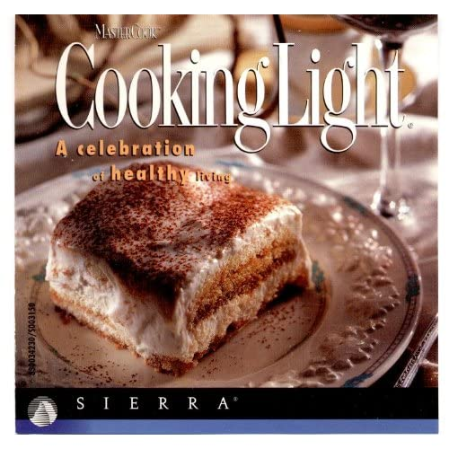MasterCook Cooking Light Software