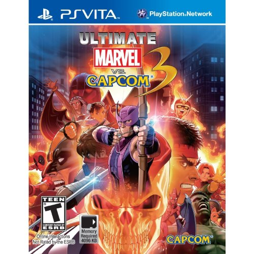 Image 0 of Ultimate Marvel Vs Capcom 3 PlayStation Vita For Ps Vita Fighting