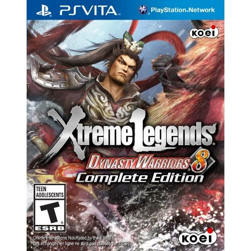 Dynasty Warriors 8: Xtreme Legends Complete Edition PlayStation Vita For Ps Vita