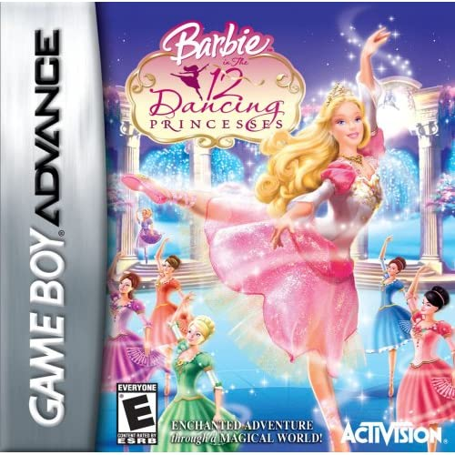 Barbie: 12 Dancing Princesses For GBA Gameboy Advance