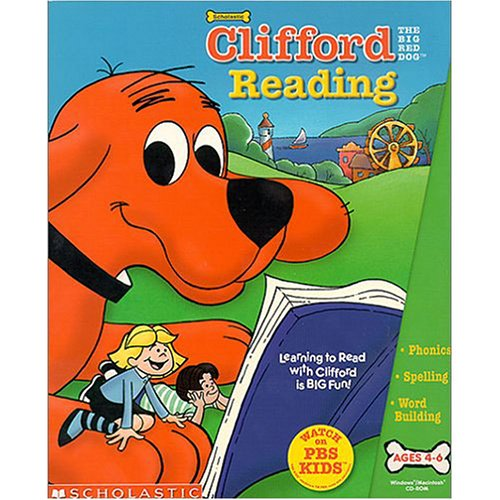 Image 0 of Clifford The Big Red Dog Reading Software