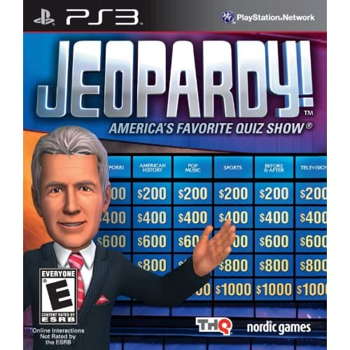 Image 0 of Jeopardy For PlayStation 3 PS3 Trivia