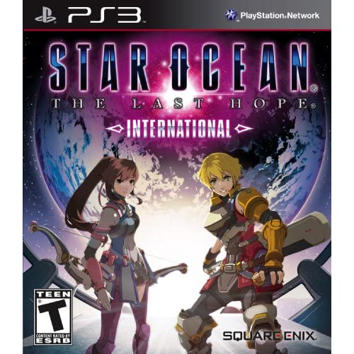 Star Ocean: The Last Hope International For PlayStation 3 PS3 RPG With Manual an