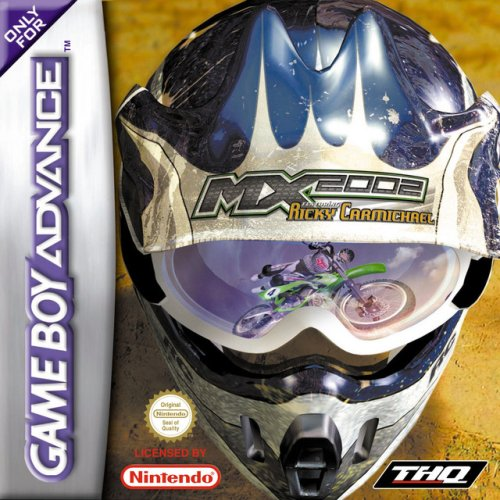Image 0 of MX 2002: Ricky Carmichael GBA For GBA Gameboy Advance Racing