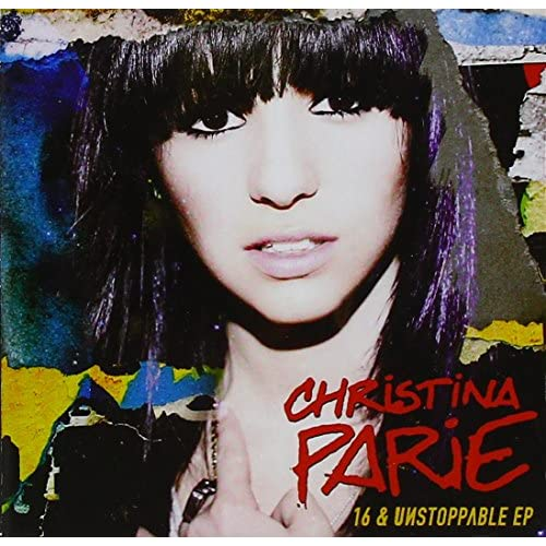 16 & Unstoppable By Parie Christina On Audio CD Pop
