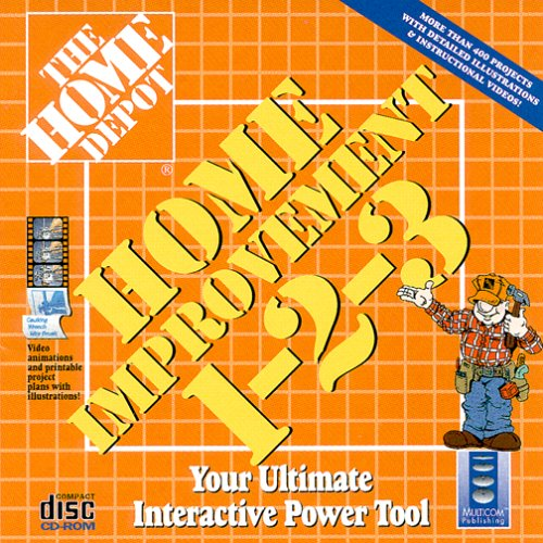 Home Improvement Software: The Home Depot's Home Improvement 1-2-3 Software
