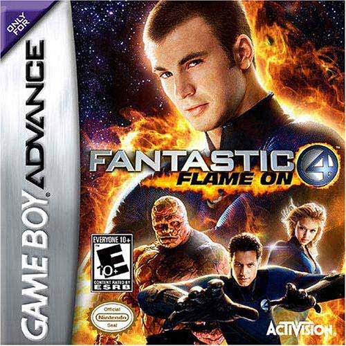 Image 0 of Fantastic 4: Flame On For GBA Gameboy Advance