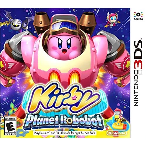 Kirby: Planet Robobot Nintendo Standard Edition For 3DS