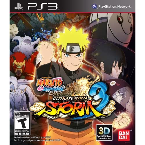 Naruto Shippuden: Ultimate Ninja Storm 3 For PlayStation 3 PS3 Fighting