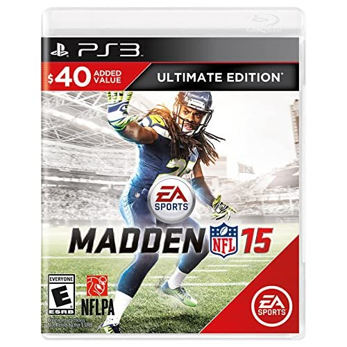 Image 0 of Madden NFL 15 Ultimate Edition For PlayStation 3 PS3 Football