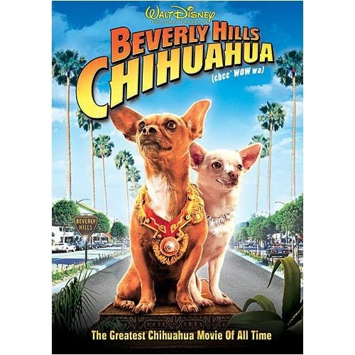 Beverly Hills Chihuahua On DVD With Jaime Lee Curtis Disney