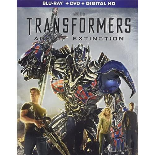 Image 0 of Transformers: Age Of Extinction Blu-Ray On Blu-Ray With Mark Wahlberg