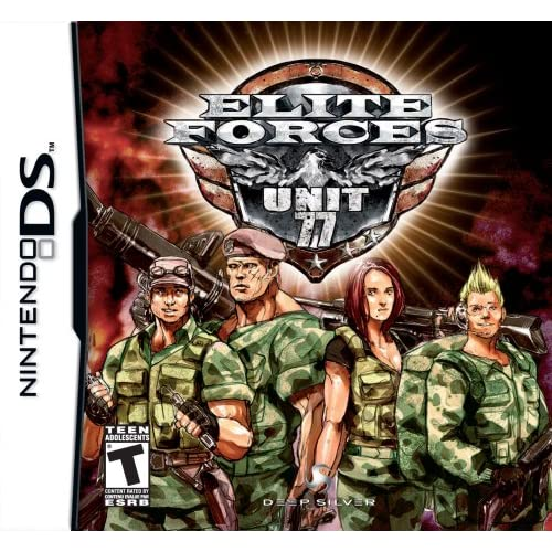 Image 0 of Elite Forces: Unit 77 For Nintendo DS DSi 3DS 2DS Fighting