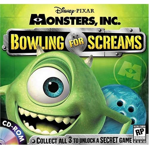 Image 0 of Bowling For Screams Monsters Inc Software Disney