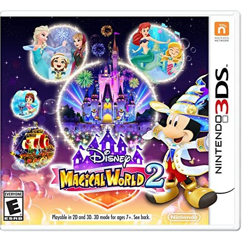 Disney Magical World 2 Nintendo For 3DS With Manual and Case
