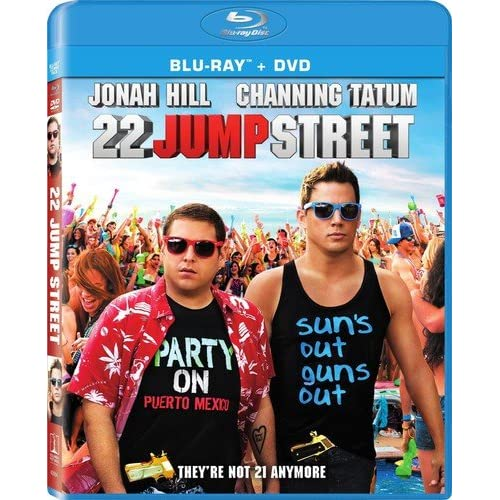 Image 0 of 22 Jump Street Blu-Ray On Blu-Ray With Jonah Hill Comedy