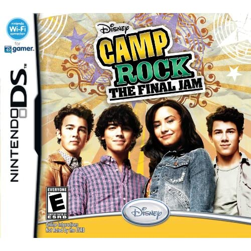 Image 0 of Camp Rock Final Jam For Nintendo DS DSi 3DS 2DS Disney Music