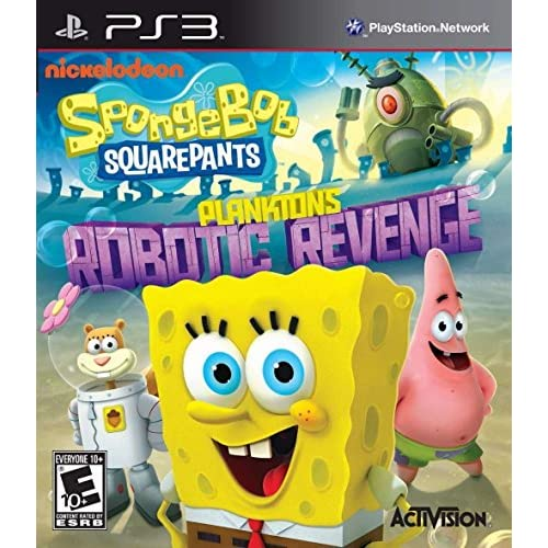 Image 0 of Spongebob Squarepants: Plankton's Robotic Revenge For PlayStation 3 PS3