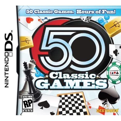 Image 0 of 50 Classic Games For Nintendo DS DSi 3DS Board Games