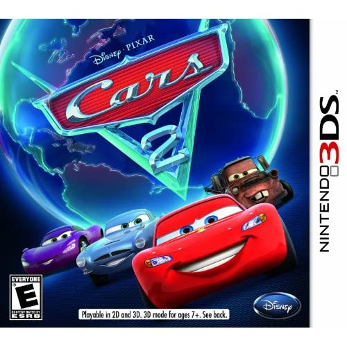 Cars 2 For 3DS Disney Racing