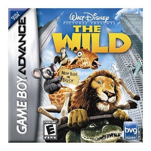 Disney Pictures Presents: The Wild Game Boy Advance For GBA Gameboy Advance