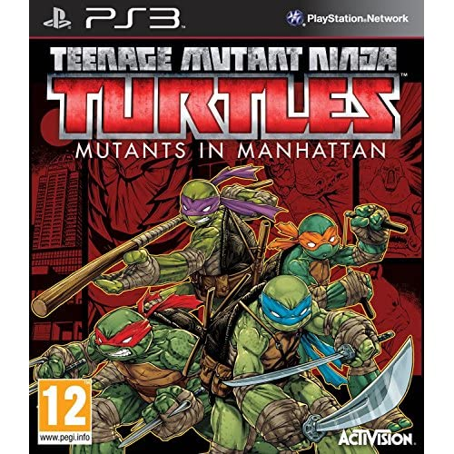 Image 0 of Teenage Mutant Ninja Turtles: Mutants In Manhattan PlayStation 3 For PlayStation