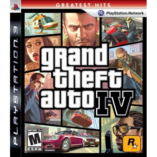 Image 0 of Grand Theft Auto IV For PlayStation 3 PS3 Racing