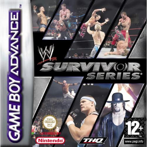 Image 0 of WWE Survivor Series GBA For GBA Gameboy Advance Wrestling