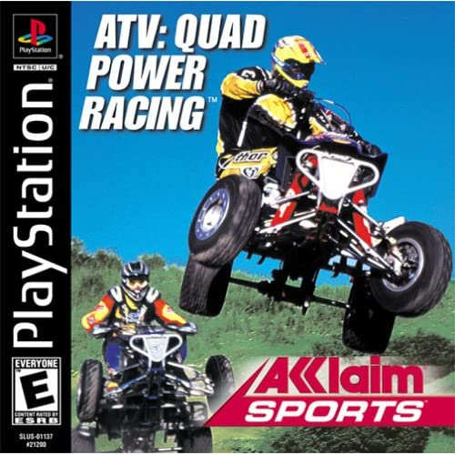 Image 0 of ATV Quad Power Racing PS1 For PlayStation 1
