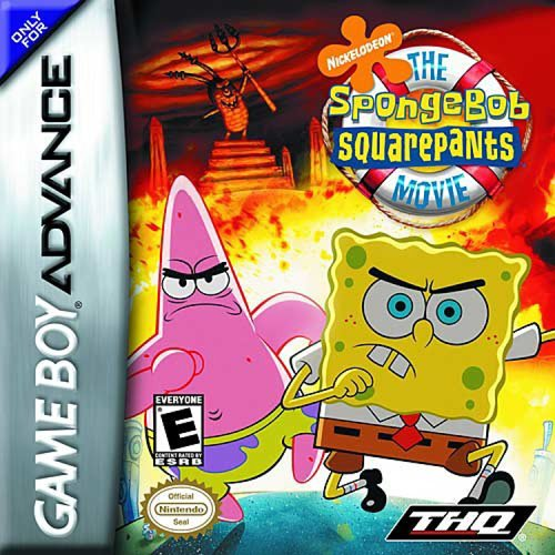 Image 0 of The Spongebob Squarepants Movie For GBA Gameboy Advance