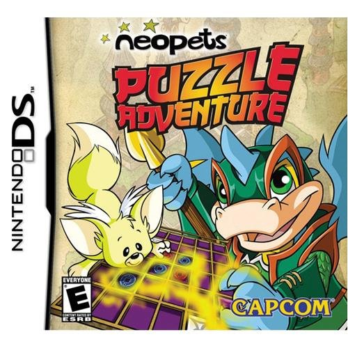 Image 0 of Neopets Puzzle Adventure For Nintendo DS DSi 3DS 2DS
