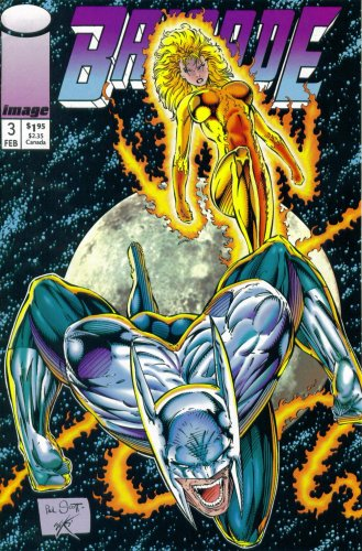 Image 0 of Brigade #3 Image Comic Book 1993 Action