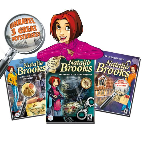 Image 2 of Natalie Brooks: Triple Trouble Collection 3 Complete Mysteries To