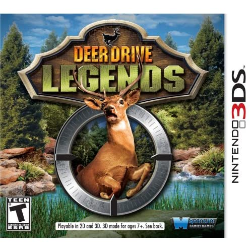 Deer Drive Legends For 3DS Fighting