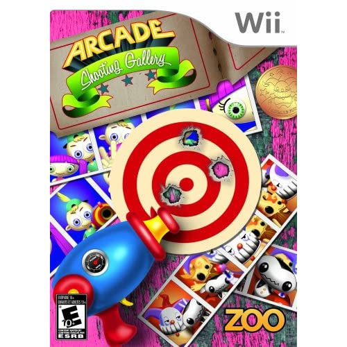 Arcade Shooting Gallery For Wii Shooter