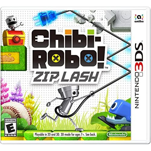 Chibi-Robo!: Zip Lash Nintendo Standard Edition For 3DS